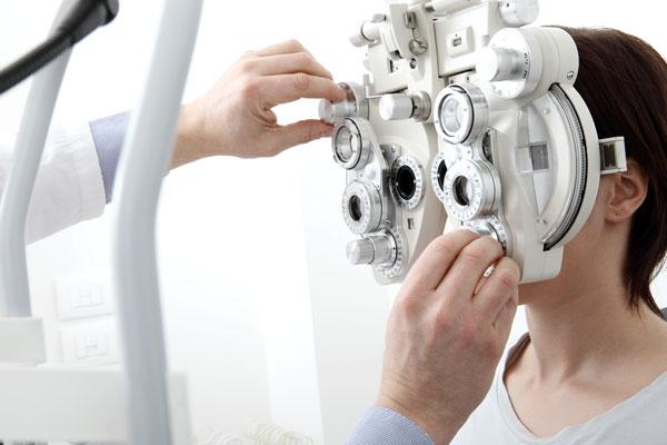 Medición de la agudeza visual