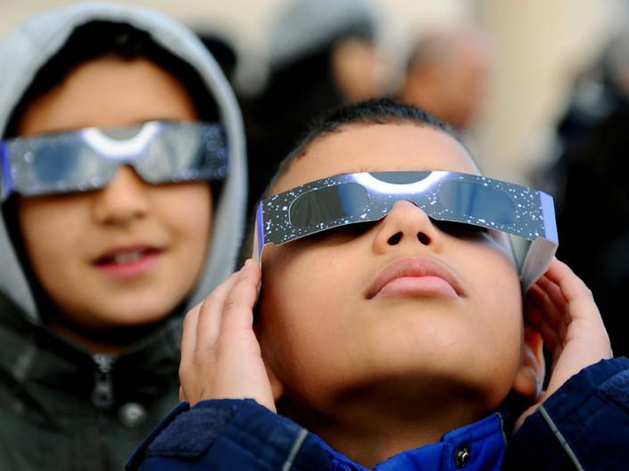 visualizacion eclipse solar
