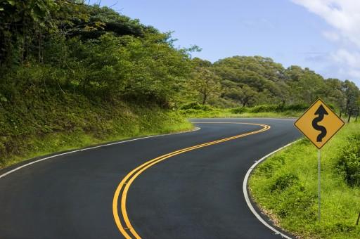 carretera curva