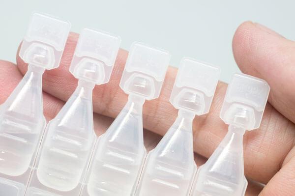 Envases de lágrima artificial