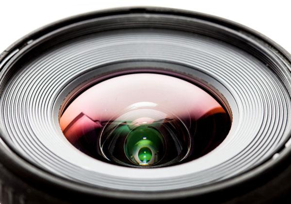 Lente cámara de fotos