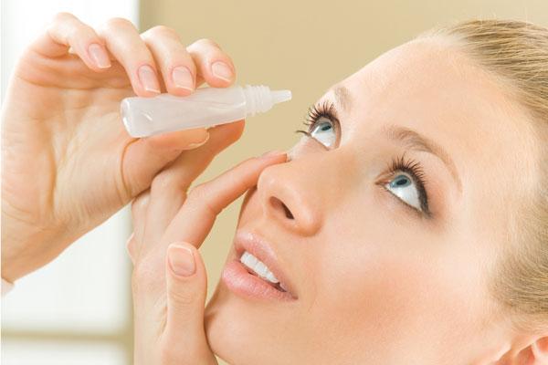Lágrima artificial para ojo seco