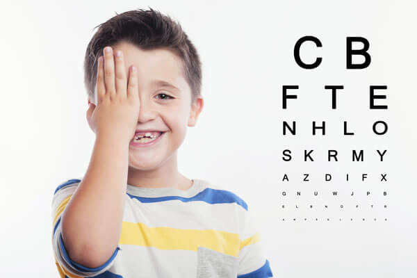 Problemas en la visión infantil
