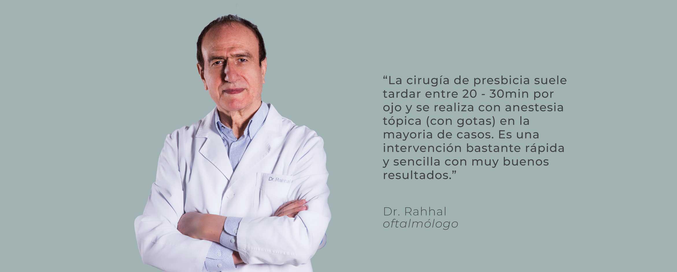 doctor rahhal testimonio cirugía presbicia